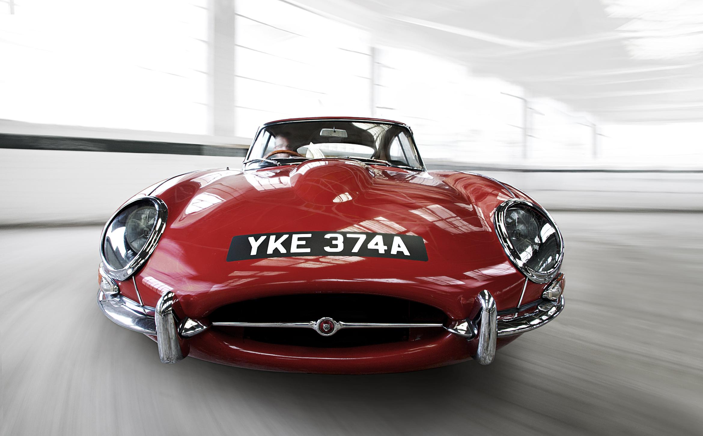 jaguar e type the car spy. Black Bedroom Furniture Sets. Home Design Ideas