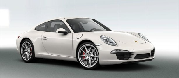 Porsche 911 Carrera S in Carrara White