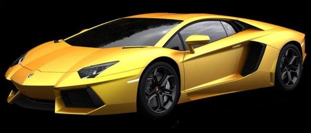 Lamborghini Aventador LP700 in Giallo Orion