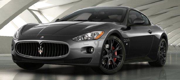 Maserati GranTurismo S in Grigio Granito