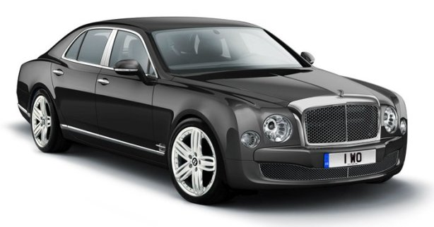 Bentley Mulsanne in Titan Grey