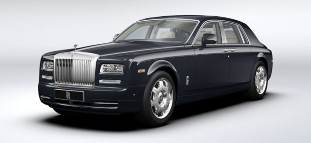 Rolls Royce Phantom in Darkest Tungsten