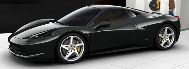 Ferrari 458 Italia in Grigio Scuro