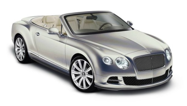 Bentley GTC W12 in Extreme Silver