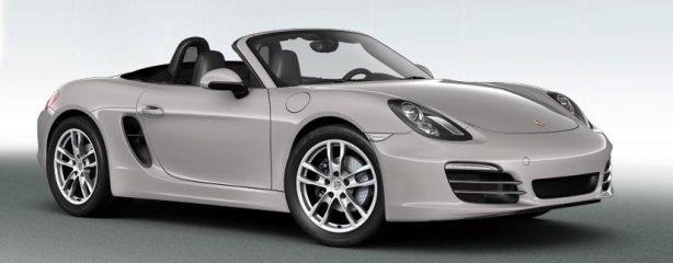 Porsche Boxster S in Platinum Silver