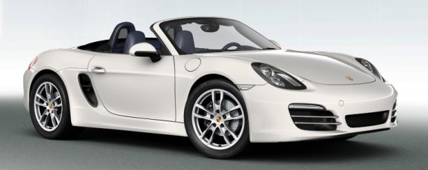 Porsche Boxster S in Carrara White