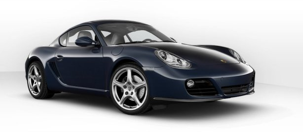 Porsche Cayman 2.9 PDK in Dark Blue Metallic