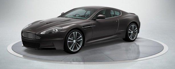 Aston Martin DBS Coupe in Quantum Silver