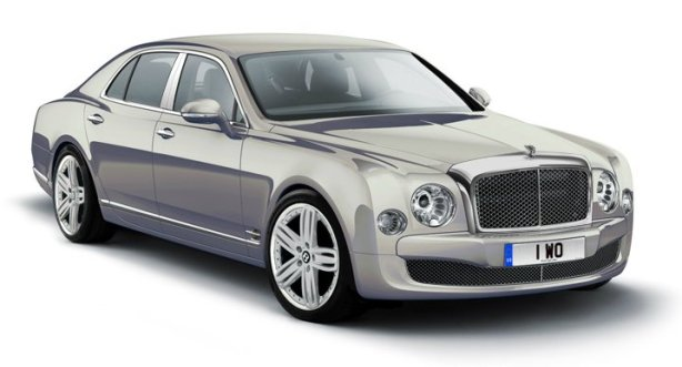 Bentley Mulsanne in Extreme Silver