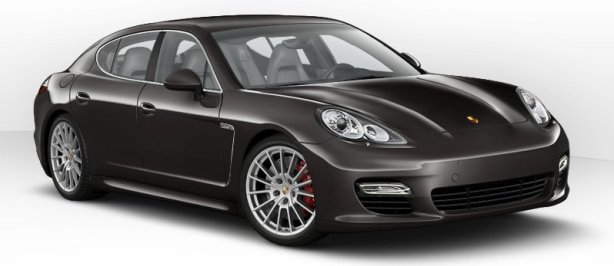 Porsche Panamera Turbo in Carbon Grey