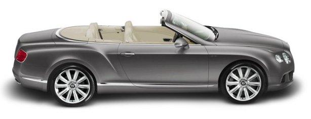 Bentley Continental GTC V12 in Tungsten