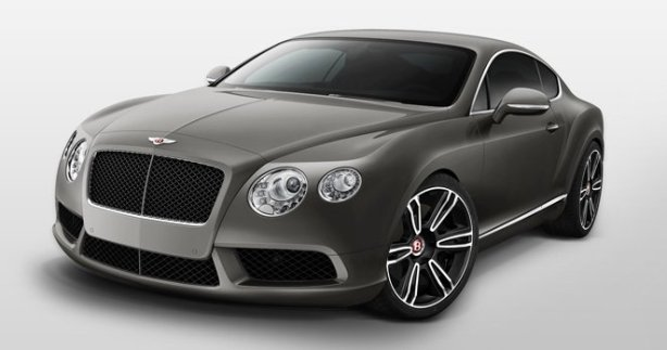 Bentley Continental GT V8 in Granite