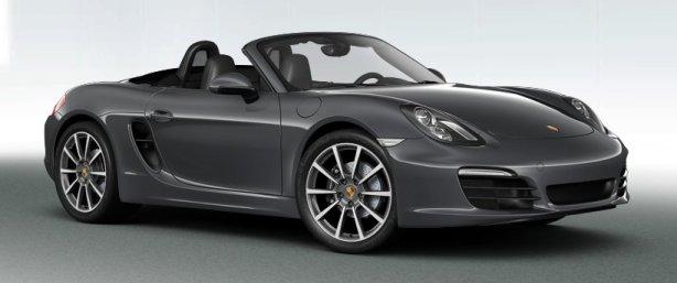Porsche Boxster S in Agate Grey
