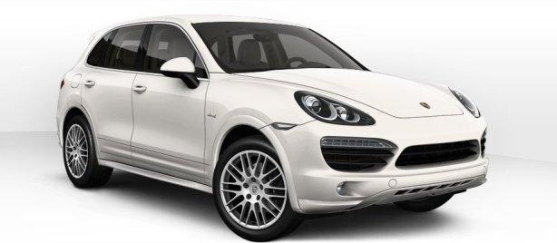 Porsche Cayenne Diesel in White