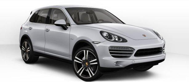 Porsche Cayenne Diesel in Classic Silver