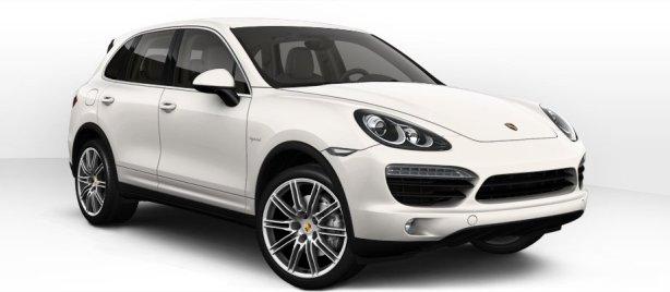 Porsche Cayenne S Hybrid in White