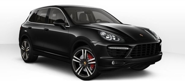 Porsche Cayenne Turbo in Jet Black