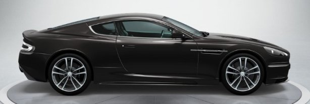 Aston Martin DBS Coupe in Storm Black