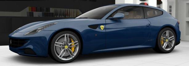 Ferrari FF in Blu Tour de France