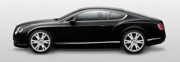 Bentley Continental GT V8 in Onyx Black