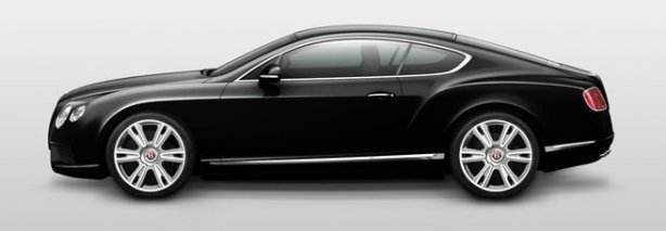 Bentley Continental GT V8 in Onyx Black