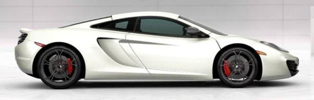 McLaren MP4-12C in Pearl White