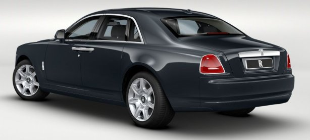Rolls Royce Ghost in Darkest Tungsten