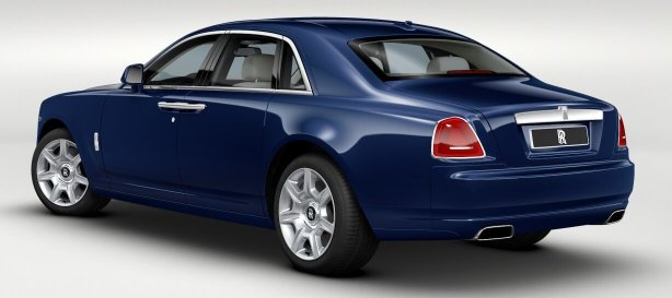 Rolls Royce Ghost in Royal Blue