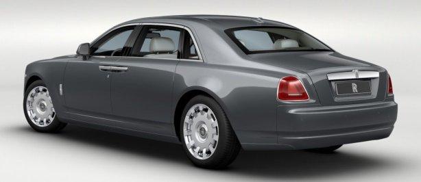 Rolls Royce EWB in Jubilee Silver