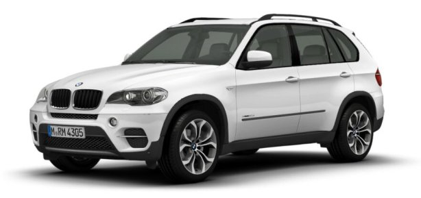 BMW X5 in Alpine White