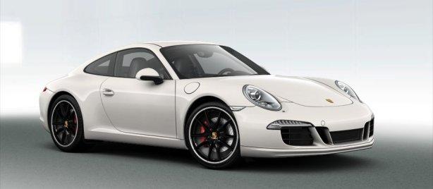 Porsche 911 Carrera S in White