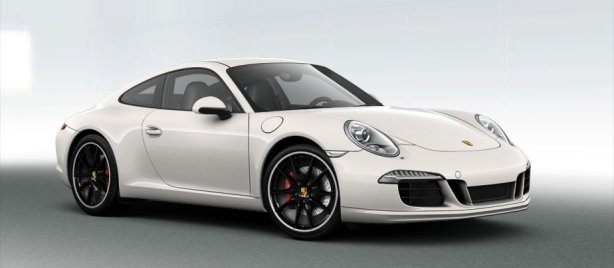 Porsche 911 Carrera S in White