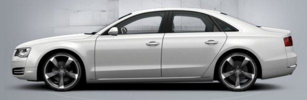 New Audi A8 3.0 Tdi Quattro in Ibis White