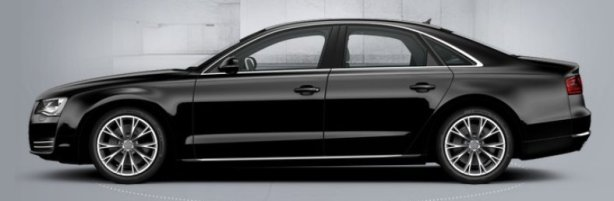 Audi A8 3.0 Tdi Quattro SE Executive LWB in Black