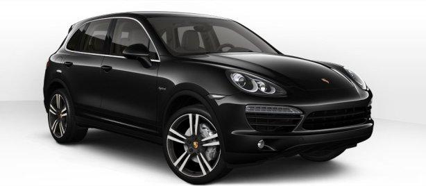 Porsche Cayenne S Hybrid in Jet Black