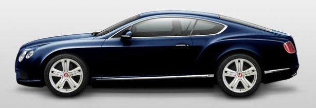 Bentley Continental GT V8 in Dark Sapphire