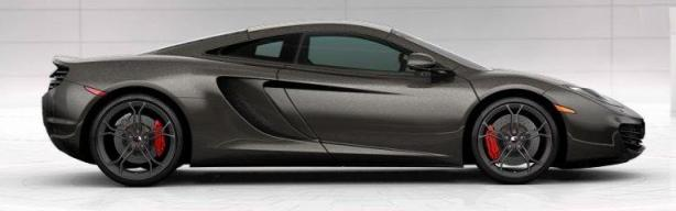 McLaren MP4-12C in Graphite Grey