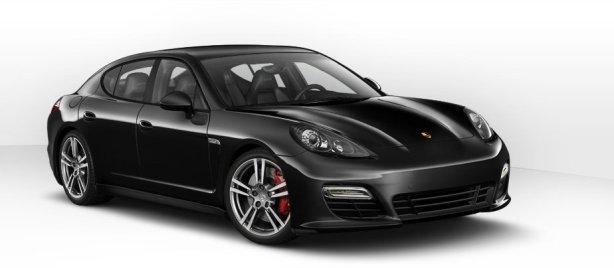 Porsche Panamera GTS in Black