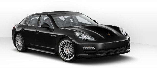 Porsche Panamera S Hybrid in Basalt Black