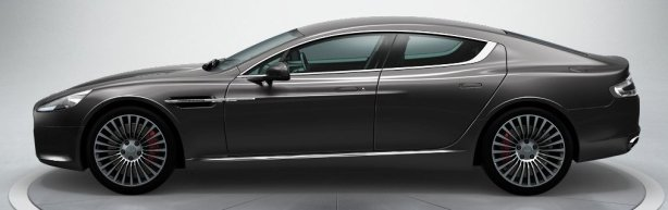 Aston Martin Rapide in Meteorite Silver