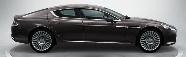 Aston Martin Rapide in Quantum Silver
