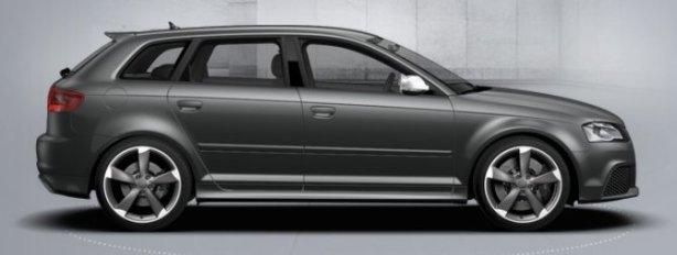 Audi RS3 Sportback in Daytona Grey