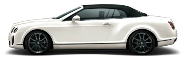 Bentley Continental Supersports Convertible in White