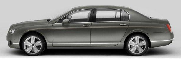 Bentley Flying Spur Mulliner in Granite