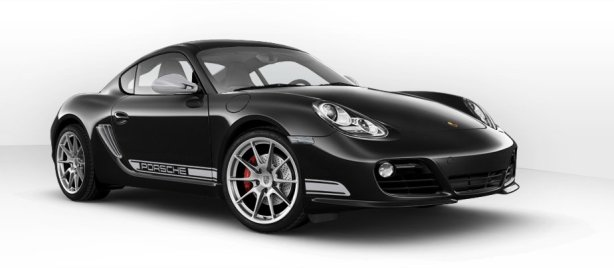 Porsche Cayman R in Basalt Black