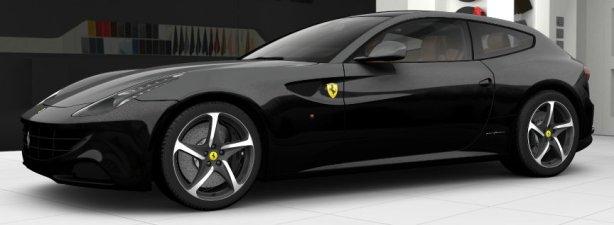 Ferrari FF in Nero Daytona