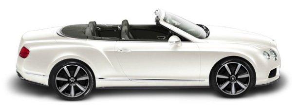 Bentley Continental GTC V8 in Glacier White