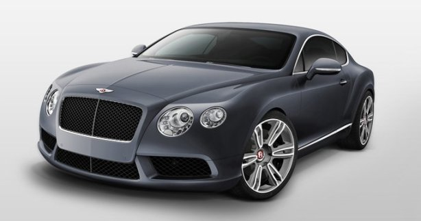 Bentley Continental GT V8 in Thunder Grey
