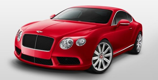 Bentley Continental GT V8 in St James Red