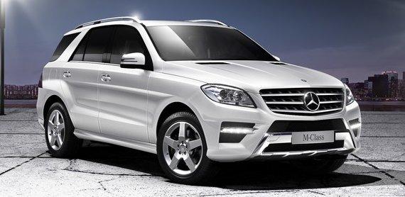Mercedes Benz ML250 BlueTec Sport in Diamond White